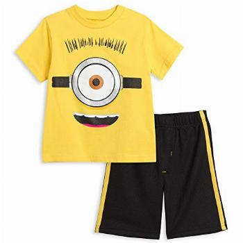 Despicable Me Minions Toddler Boys Graphic T-Shirt & Shorts