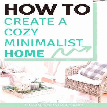 Have you been wanting to create a cozy minimalist home? Look for no further than the book Cozy Mini
