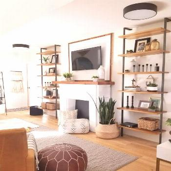 Living Room Inspiration 27 Gorgeous Rustic Chic Living Rooms that You Must See