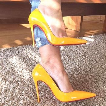 Outstanding Shoes Makes All Summer Fresh Look. Lovely Colors and Shape. The Best of high heels in 2