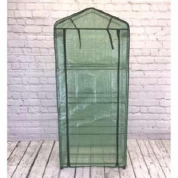 Selections Four Tier Mini Greenhouse with Reinforced Cover