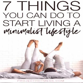 So you've heard the hype and you want to start living a minimalist lifestyle but you don't know whe