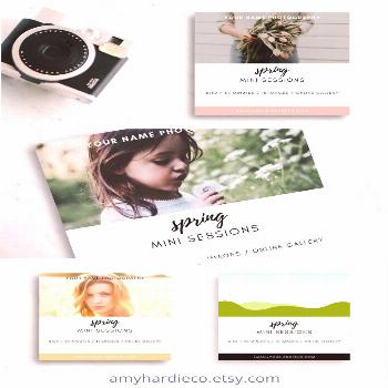 Spring mini session template, Spring mini session photography template This flyer template has been